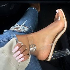 Cheap transparent shoes, Buy Quality transparent shoes for women directly from China chaussure femme ete Suppliers: Chaussures Femme Ete 2017 Ankle Strap High Heels Transparent Shoes for Women Sandals Buckle clear heels Ladies Sandals Apricot Ankle Strap High Heels, Platform High Heels, Strap Sandals, Gladiator Sandals, Heeled Sandals, Ankle Straps, Sandal Heels, Wedge Sandals, Women's Pumps