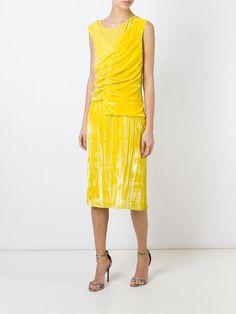 #ninaricci #dress #sequins #new #yellow #party #women www.jofre.eu