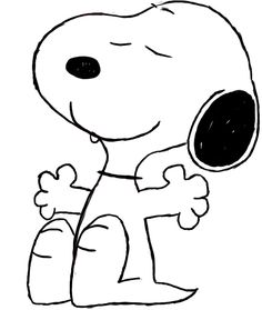 Today's tutorial will cover how to draw Snoopy, from Charlie Brown. Snoopy, (a. Joe Cool), is my favorite Peanuts character, so this tutorial was one of the most fun to do. Paper Drawing, Line Drawing, Painting & Drawing, Doodle Drawings, Easy Drawings, Snoopy Drawing, Snoopy Cartoon, Ascii Art, Peanuts Characters