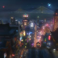 Movies: Disneys BIG HERO 6 Concept Art and First Look Footage Released