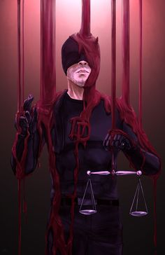 Daredevil/Salvator Lex Art Print