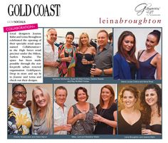 We made the social pages of Gold Coast Magazine for our store launch at Collaboration+!!