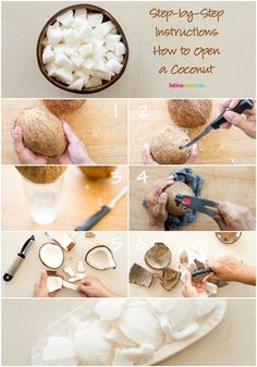 How to Open a Coconut in 5 Easy Steps