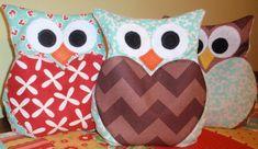 PDF PATTERN - Owl Rice Bag, Owl heating pad