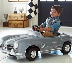 Mercedes Electric Ride-On #pbkids
