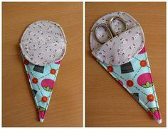 Tutorial: funda para tijeras / Tutorial: scissors case
