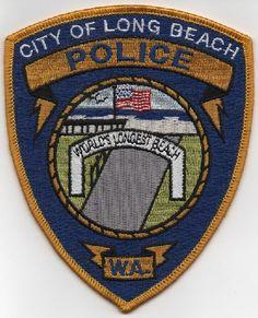 Long Beach PD WA patch