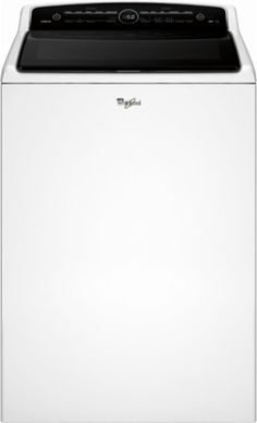 Whirlpool - Cabrio 5.3 Cu. Ft. 26-Cycle High-Efficiency Top-Loading Washer - White - Front_Zoom