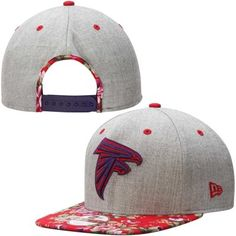 Designed for the fan who appreciates great style, this New Era Falcons adjustable snapback hat is a winning accessory.