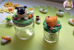 Barattolini decorati in pdz #gisteracake #eastercake #easter
