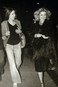 Jane Birkin/ Catherine Deneuve