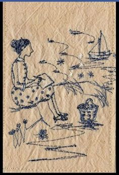 Betty quickly sketches the scene: Michelle Holmes