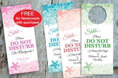 Do Not Disturb Starfish Door Hanger, Buy 1, Get 1 FREE, DIY, Printable PDF