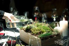 The Ballet Banquet - Moss Banquet, Event Decor, Table Decorations, Food, Home Decor, Decoration Home, Room Decor, Essen, Banquettes