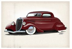 Uncommon 34 Ford Custom