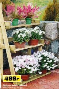 Stojan na květiny skládací
