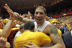 Iowa State defeats #5 Kansas 72-64 in Hilton on 1/29/2012. First win over a top 5 team since 1995, first win over KU since 2005.