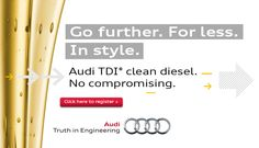 """Register for our """"TDI clean diesel Event"""" Oct 15th-17th here at Keyes Audi! Test Drive our new diesel models & find out what all the hype is about!  http://tdi.audiexperience.us/register/index.php?sid=keyes"""