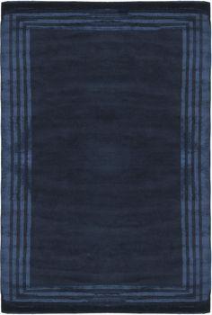 Rug RLR6672D Ellington Border - Safavieh Rugs - Ralph Lauren Rugs - Wool & Silk Rugs - Area Rugs - Runner Rugs