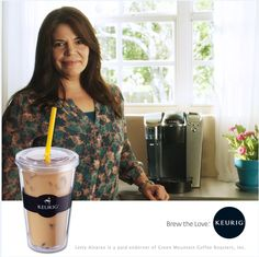 Letty keeps her cool with Keurig's Iced Beverage Tumbler. What's your favorite Keurig accessory?  #BrewtheLove