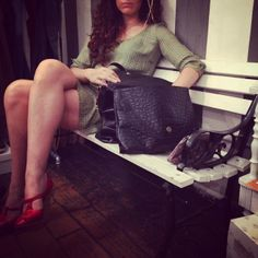 #dress#atticandbarn, #shoes#albertaferretti#philosophy