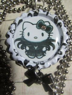 Jack Skellington Hello Kitty Nightmare by TinkerbevsTrinkets, $9.99