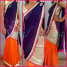 Designer Drapes-By Sonal Daga. Contact : Call 096691 66763. Email : scarletmapleboutique@gmail.com. 31 December 2016