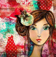 FACEcinating Girls - Online Class Class   by Andrea Gomoll  http://andrea-gomoll.de/facecinatinggirls/