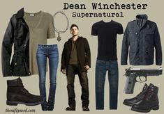Time for some closet cosplay. Raid your wardrobe and put together these Sam & Dean Winchester everyday cosplay outfits. Supernatural Halloween Costumes, Supernatural Costume, Supernatural Inspired Outfits, Sam Winchester Cosplay, Dean Winchester Outfit, Casual Cosplay, Cosplay Outfits, Cosplay Ideas, Costume Ideas