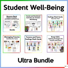 Your student's well-being is as important as teaching academics. Our student well-being resources could help your students manage their feelings better, adapt, and adjust effectively to their immediate environment, help them cope when they encounter distressful events, build and boost their resilien...