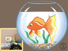 "Wall decal ""goldfish"" - #decal #goldfish #Wall - #decal #goldfish #W - - #decal #goldfish #Wall"