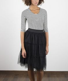 Look at this #zulilyfind! Black NY Dress #zulilyfinds