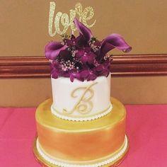 Love is all we need! #love #cutsofconfetti #customcaketopper