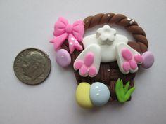 Needle Minder ~ Bunny Buns (Clay)