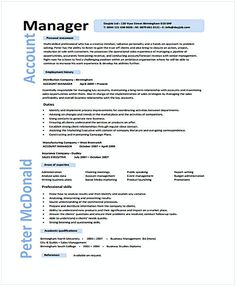 Entry Level Project Manager Resume In Ms Word  Senior Project