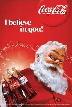 Coca Cola Poster, Coca Cola Ad, Always Coca Cola, Coke Ad, Pepsi, Vintage Coke, Vintage Santas, Vintage Signs, Coca Cola Santa Claus