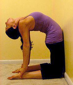 9 best upper back stretches images  back flexibility
