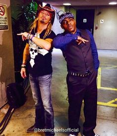 WEBSTA @ bretmichaelsofficial - Check out this awesome photo of Bret and Coolio taken while at ABC Television Network's #GreatestHitsABC which airs TONIGHT July 14th @ 9pm EST/8pm CST. Bret is bringing the #party and tonight ABC is going to rock! Check local listings for time/channel in your area. - Team Bret #GreatestHits #summer #music #partystartsnow @greatesthitsabc
