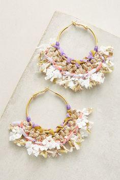 Mary Hoop Earrings