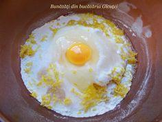 Gogosi turnate, cu iaurt - Bunătăți din bucătăria Gicuței Eggs, Breakfast, Food, Meal, Egg, Eten, Meals, Morning Breakfast