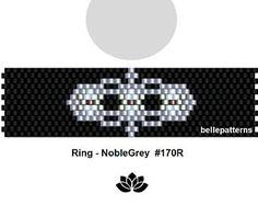 peyote ring pattern,PDF-Download, #170R, beading pattern, beading tutorials, ring pattern