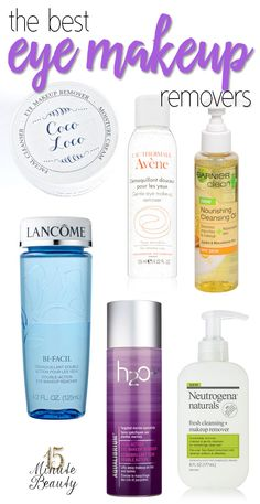 Beauty Blogger Favorite Eye Makeup Removers via @15minbeauty