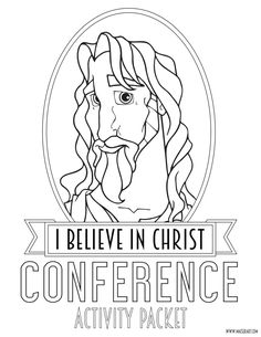 458 Best Lds General Conference Activities Ideas For Kids Images