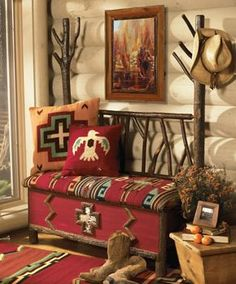 Country Western Home Decor. Staggering Country Western Home Decor Creativity. Southwest Decor, Southwestern Decorating, Southwestern Style, Southwest Bedroom, Western Furniture, Shabby Chic Furniture, Cabin Furniture, Furniture Stores, Furniture Ideas