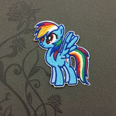 Cartoon patch Fluttershy - My Little Pony Patch Iron on Patch embroidered patches Sew on patches