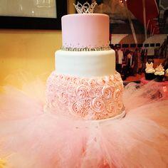 Ballerina Baby Shower Cake