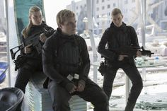 Josh Hutcherson as Peeta Mellark in Mockingjay Part 2