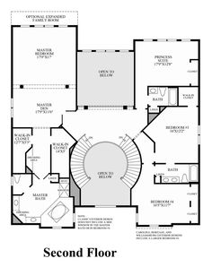 Double Staircase Foyer House Plans Google Search