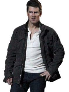 Tom Cruise Jack Reacher Cotton Jacket