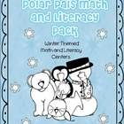 Polar Pals Math and Literacy Pack is jammed packed with loads of winter fun for your Pre-k, Kindergarten or 1st grade class. You will find math ce...